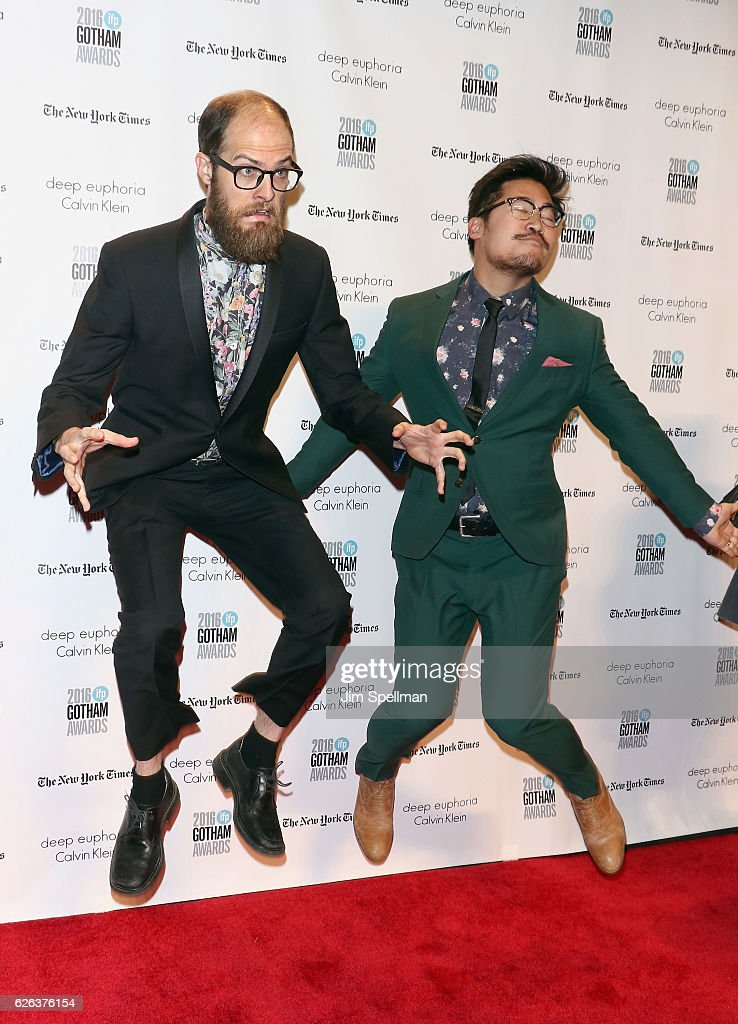 Director Daniel Scheinert and director/actor Daniel Kwan attend the 26th Annual Gotham Independent Film Awards at Cipriani Wall Street on November 28, 2016 in New York City.