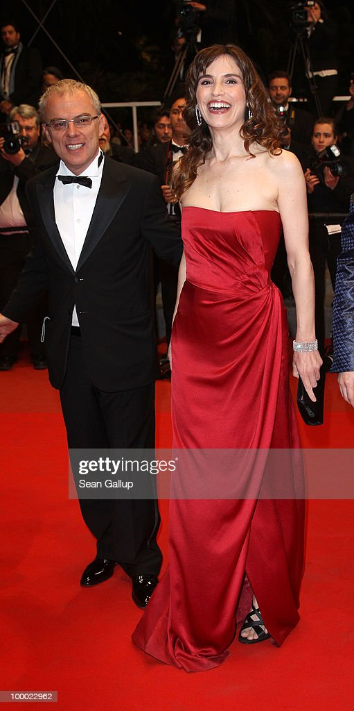 Director Daniele Luchetti and actress Stefania Montorsi attend the 'Our Life' Premiere at the Palais des Festivals during the 63rd Annual Cannes Film Festival on May 20, 2010 in Cannes, France.
