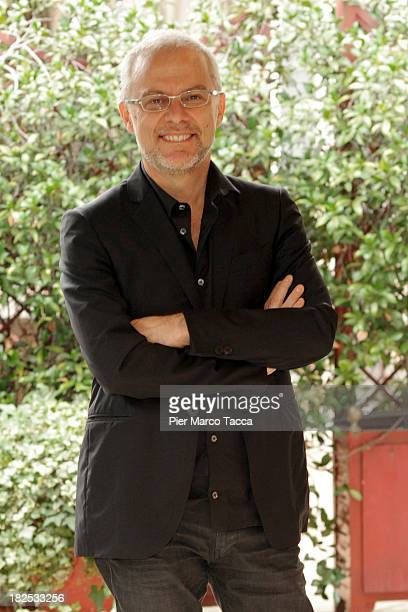 Director Daniele Luchetti attends an 'Anni Felici' photocall at hotel Baglioni on September 30 2013 in Milan Italy