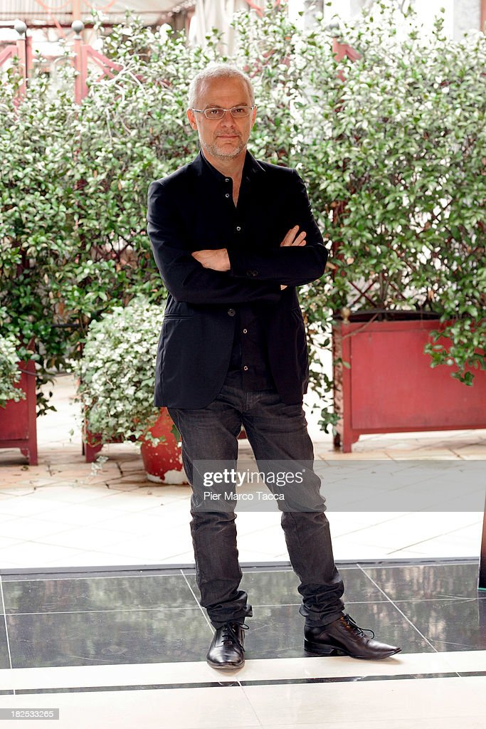 Director Daniele Luchetti attends an 'Anni Felici' photocall at hotel Baglioni on September 30, 2013 in Milan, Italy.