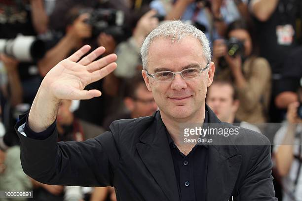Director Daniele Luchetti attends the 'Our Life' Photocall at the Palais des Festivals during the 63rd Annual Cannes Film Festival on May 20 2010 in...