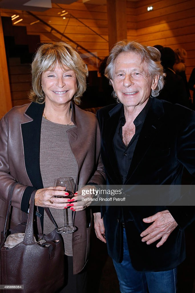Director Daniele Thompson and Director Roman Polanski attend the Cinema 'Les Fauvettes' : Opening Ceremony on November 5, 2015 in Paris, France.