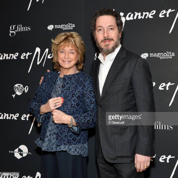 Director Daniele Thompson and Guillaume Gallienne attend the 'Cezanne et Moi' New York premiere at the Whitby Hotel on March 22 2017 in New York City