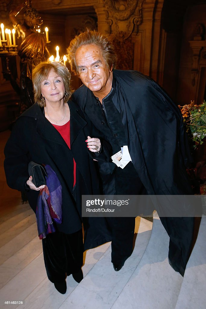 Director Daniele Thompson (L) and her husband, producer Albert Koski attend Weizmann Institute celebrates its 40 Anniversary at Opera Garnier in Paris on January 12, 2015 in Paris, France.