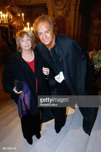 Director Daniele Thompson and her husband producer Albert Koski attend Weizmann Institute celebrates its 40 Anniversary at Opera Garnier in Paris on...