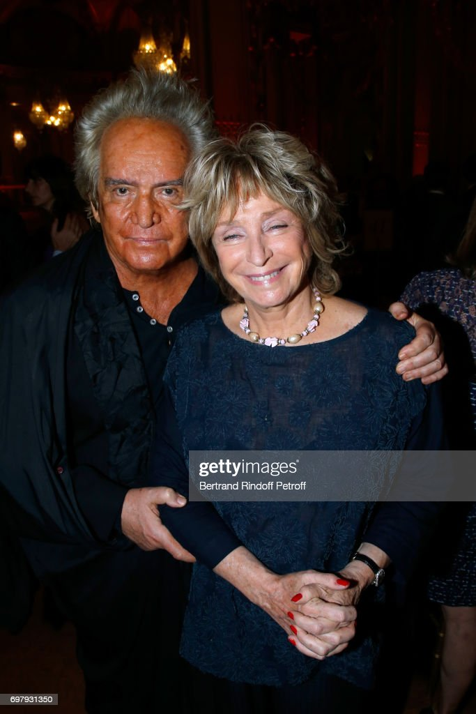 Director Daniele Thompson and her husband Producer Albert Koski attend the 'Societe ses Amis du Musee d'Orsay' : Dinner Party at Musee d'Orsay on June 19, 2017 in Paris, France.