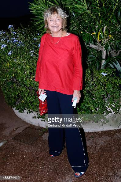 Director Daniele Thompson attends the 'La colere du Tigre' Theater play during the 31th Ramatuelle Festival Day 6 on August 6 2015 in Ramatuelle...