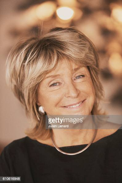 Director Daniele Thompson is photographed for Le Film Francais on September 8 2016 in Paris France