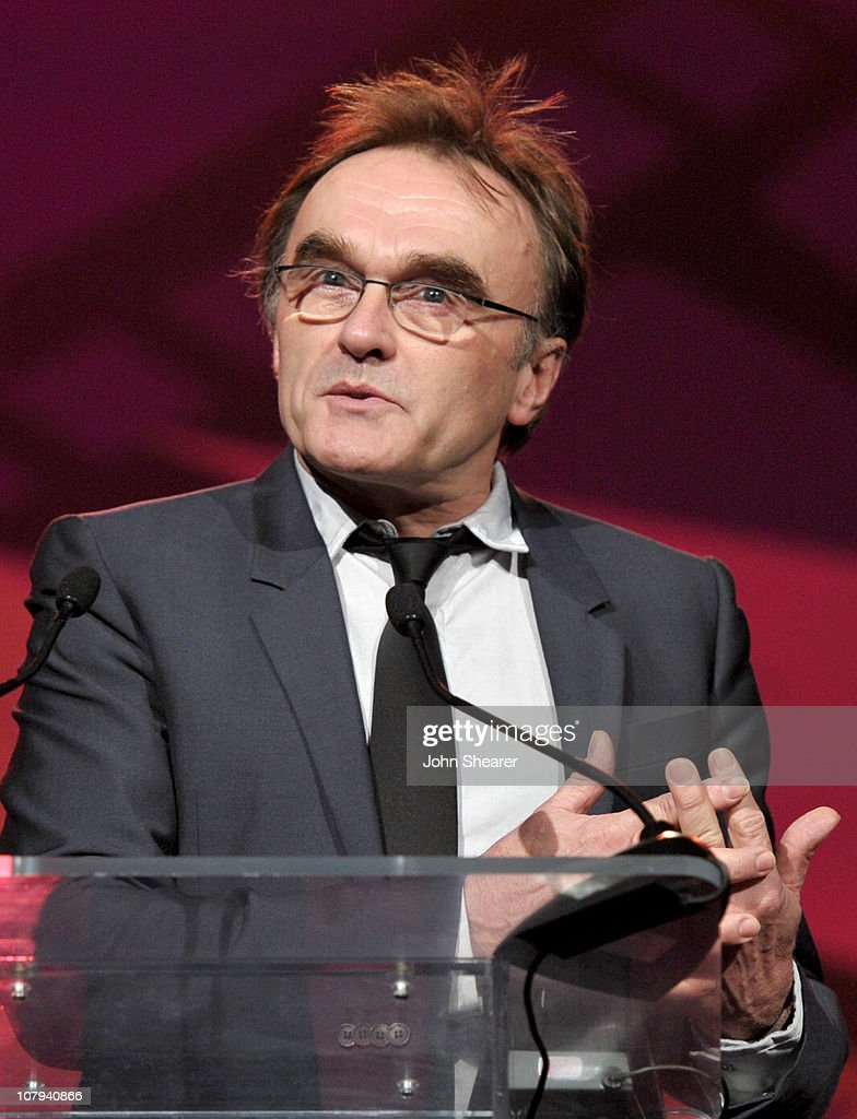 Director Danny Boyle accepts the Sonny Bono Visionary Award onstage during the 22nd Annual Palm Springs International Film Festival Awards Gala at the Palm Springs Convention Center on January 8, 2011 in Palm Springs, California.