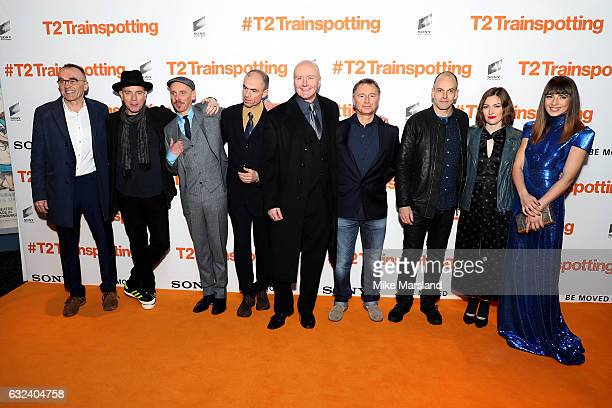 Director Danny Boyle actors Ewan McGregor Ewen Bremner screenwriter John Hodge novelist Irvine Welsh actors Robert Carlyle Jonny Lee Miller Kelly...