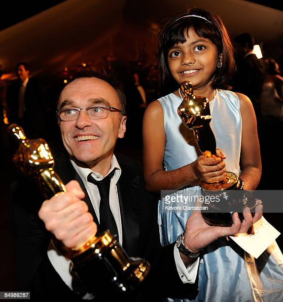 Director Danny Boyle and actress Rubina Ali at the 81st Annual Academy Awards Governor's Ball held at Kodak Theatre on February 22 2009 in Los...