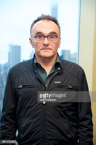 Director Danny Boyle at the 'Steve Jobs' Press Conference at the Mandarin Oriental Hotel on October 3 2015 in New York City
