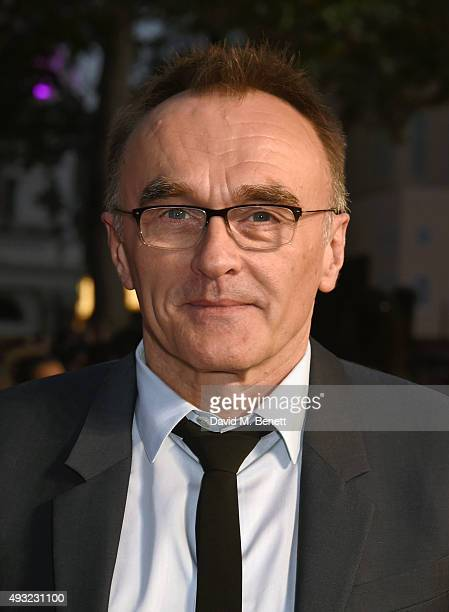 Director Danny Boyle attends a gala screening of 'Steve Jobs' on the closing night of the BFI London Film Festival at Odeon Leicester Square on...