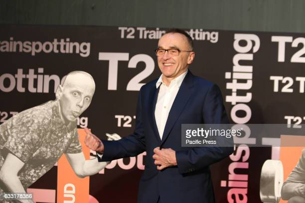 Director Danny Boyle attends a photocall for 'Trainspotting 2' at Guido Reni District in Rome Italy