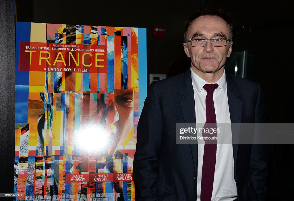 Director <a gi-track='captionPersonalityLinkClicked' href=/galleries/search?phrase=Danny+Boyle&family=editorial&specificpeople=1678742 ng-click='$event.stopPropagation()'>Danny Boyle</a> attends Fox Searchlight Pictures' premiere of 'Trance' hosted by the Cinema Society & Montblanc at SVA Theater on April 2, 2013 in New York City.