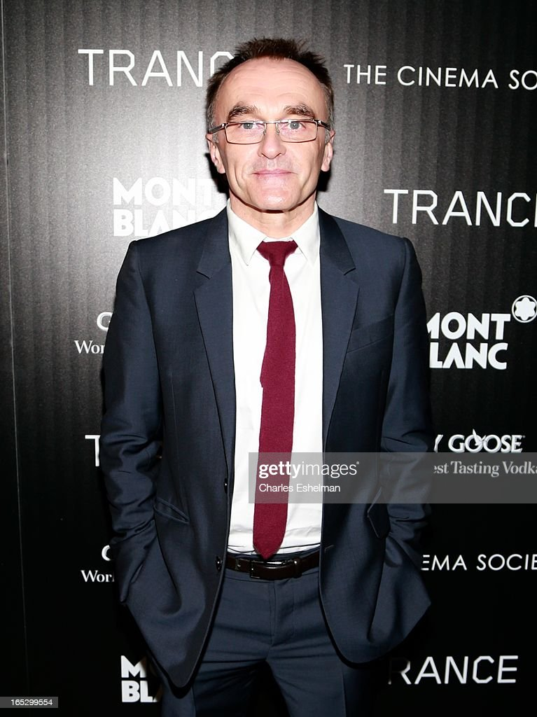 Director <a gi-track='captionPersonalityLinkClicked' href=/galleries/search?phrase=Danny+Boyle&family=editorial&specificpeople=1678742 ng-click='$event.stopPropagation()'>Danny Boyle</a> attends The Cinema Society & Montblanc Host Fox Searchlight Pictures' 'Trance' at SVA Theatre on April 2, 2013 in New York City.