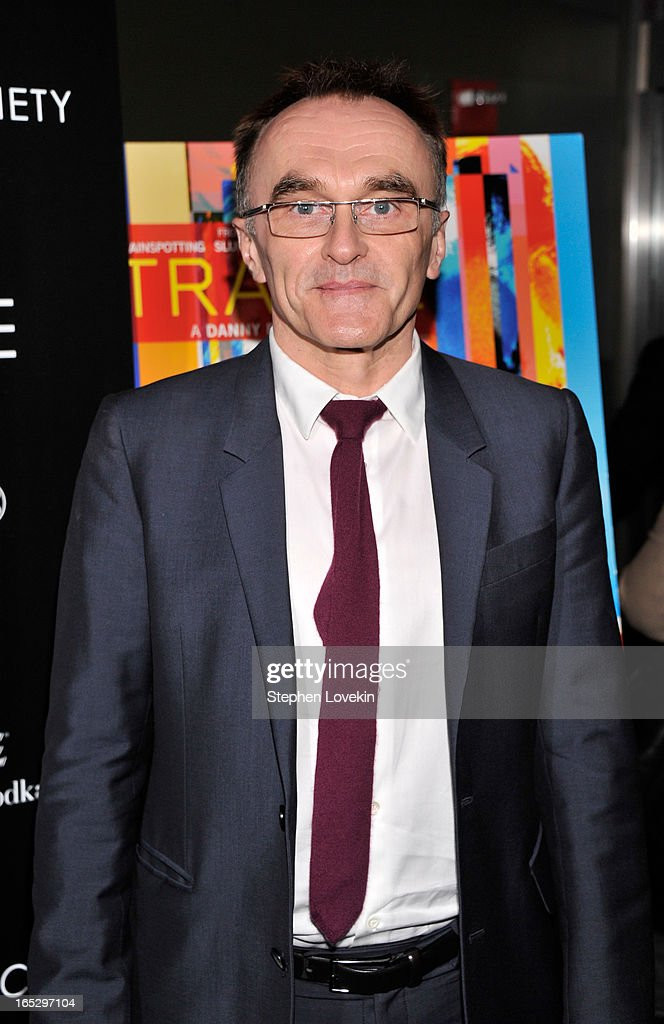 Director <a gi-track='captionPersonalityLinkClicked' href=/galleries/search?phrase=Danny+Boyle&family=editorial&specificpeople=1678742 ng-click='$event.stopPropagation()'>Danny Boyle</a> attends the premiere of Fox Searchlight Pictures' 'Trance' hosted by The Cinema Society & Montblanc at SVA Theater on April 2, 2013 in New York City.