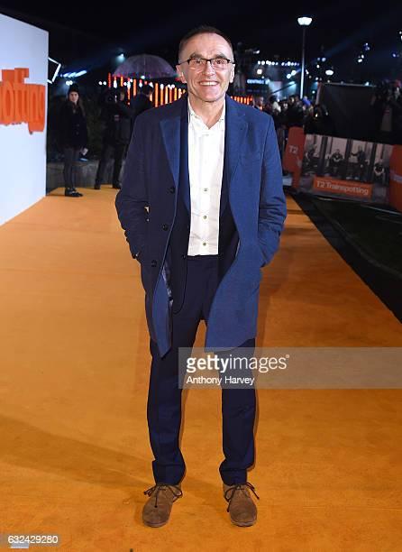 Director Danny Boyle attends the 'T2 Trainspotting' world premiere on January 22 2017 in Edinburgh United Kingdom