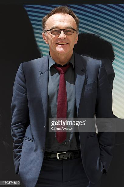 Director Danny Boyle attends the 'Trance' photocall at the Villamagna Hotel on June 12 2013 in Madrid Spain