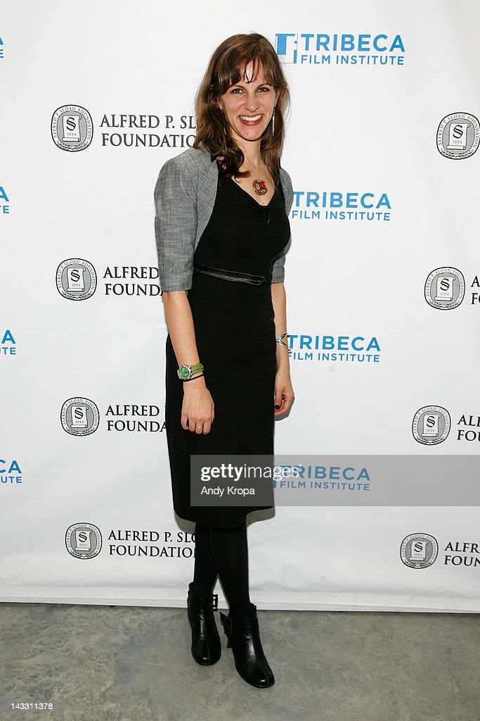 Director Dara Bratt attends the Sloan WIP Readings & Cocktails during the 2012 Tribeca Film Festival at the Green Space on April 23, 2012 in New York City.