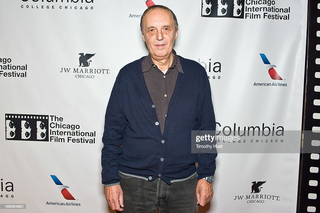 Director Dario Argento attends the 'Dracula 3D' premiere at AMC River East Theater on October 19, 2013 in Chicago, Illinois.