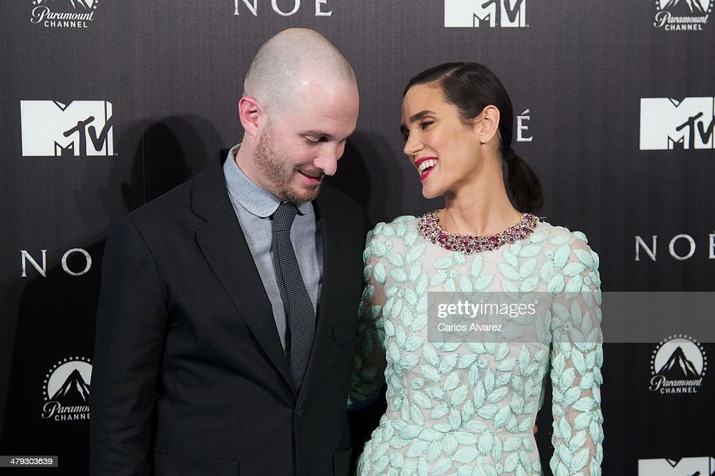 Director <a gi-track='captionPersonalityLinkClicked' href=/galleries/search?phrase=Darren+Aronofsky&family=editorial&specificpeople=841696 ng-click='$event.stopPropagation()'>Darren Aronofsky</a> and actress <a gi-track='captionPersonalityLinkClicked' href=/galleries/search?phrase=Jennifer+Connelly&family=editorial&specificpeople=201581 ng-click='$event.stopPropagation()'>Jennifer Connelly</a> attend the premiere of Paramount Pictures 'Noah' (Noe) at the Palafox cinema on March 17, 2014 in Madrid, Spain.