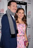 Director Darren Aronofsky and actress Natalie Portman arrive at the 'Black Swan' closing night gala during AFI FEST 2010 presented by Audi held at...
