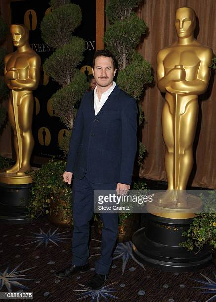 Director Darren Aronofsky arrives at the 83rd Academy Awards Nominations Luncheon held at the Beverly Hilton Hotel on February 7 2011 in Beverly...