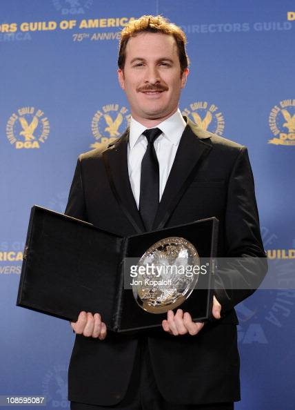 Director Darren Aronofsky poses at the 63rd Annual DGA Awards Press Room at the Grand Ballroom at Hollywood Highland Center on January 29 2011 in...