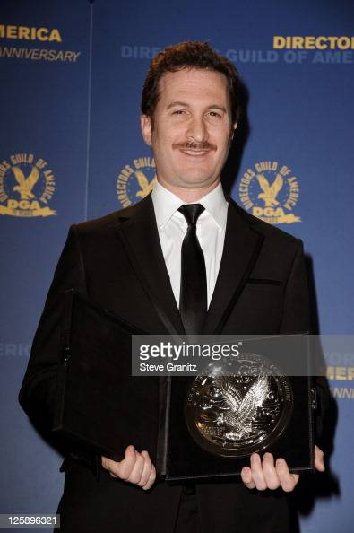 Director Darren Aronofsky poses in the press room during the 63rd Annual DGA Awards held at the Grand Ballroom at Hollywood Highland Center on...