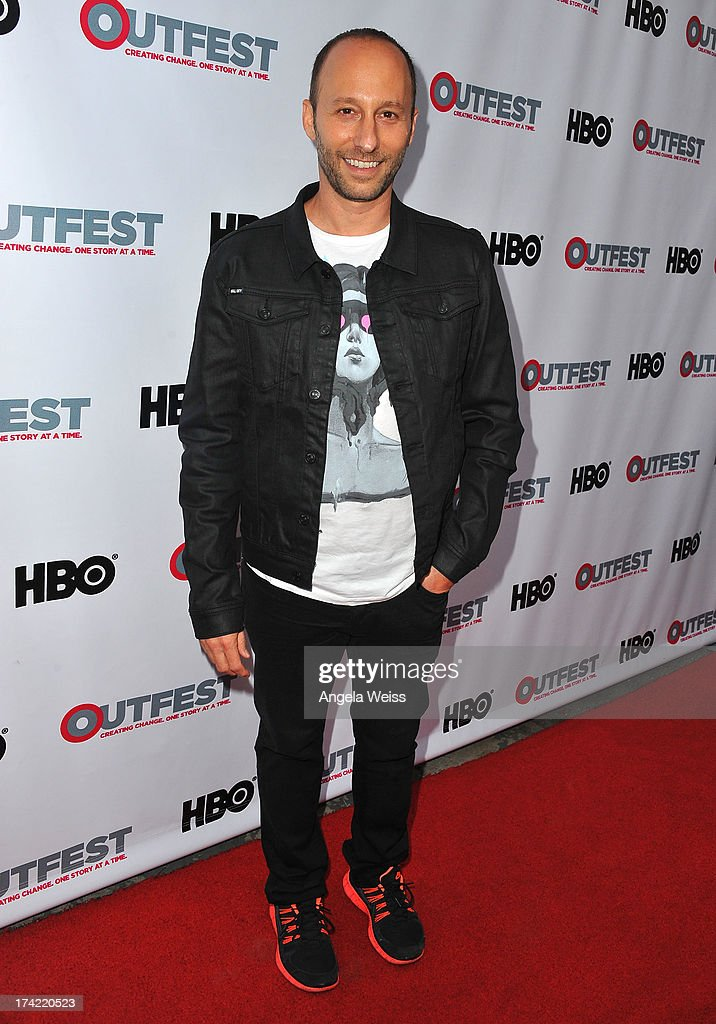 Director Darren Stein arrives at the 2013 Outfest Film Festival closing night gala of 'G.B.F.' at the Ford Theatre on July 21, 2013 in Hollywood, California.