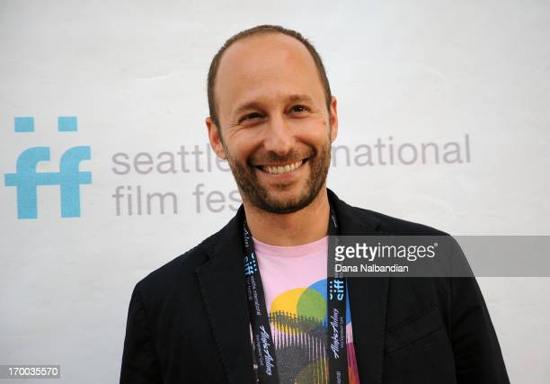 Director Darren Stein attends Seattle International Film Festival world premiere of 'GBF' at Egyptian Theater Seattle on June 5 2013 in Seattle...