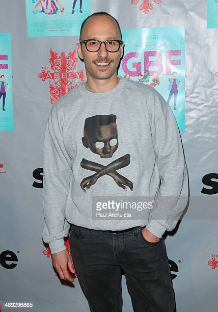 Director Darren Stein attends the DVD release party for 'GBF' at The Abbey on February 13 2014 in West Hollywood California