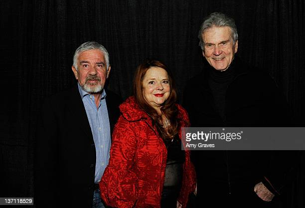 Director Darryl Macdonald writer Susan Bernard and actor Don Murray attend the 23rd Annual Palm Springs International Film Festival Special Program...