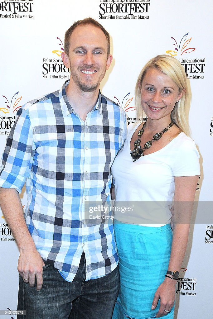 Director Dave Edwardz and Erin Langford attends the 2016 Palm Springs International ShortFest - Saturday Screenings & Events on June 25, 2016 in Palm Springs, California.
