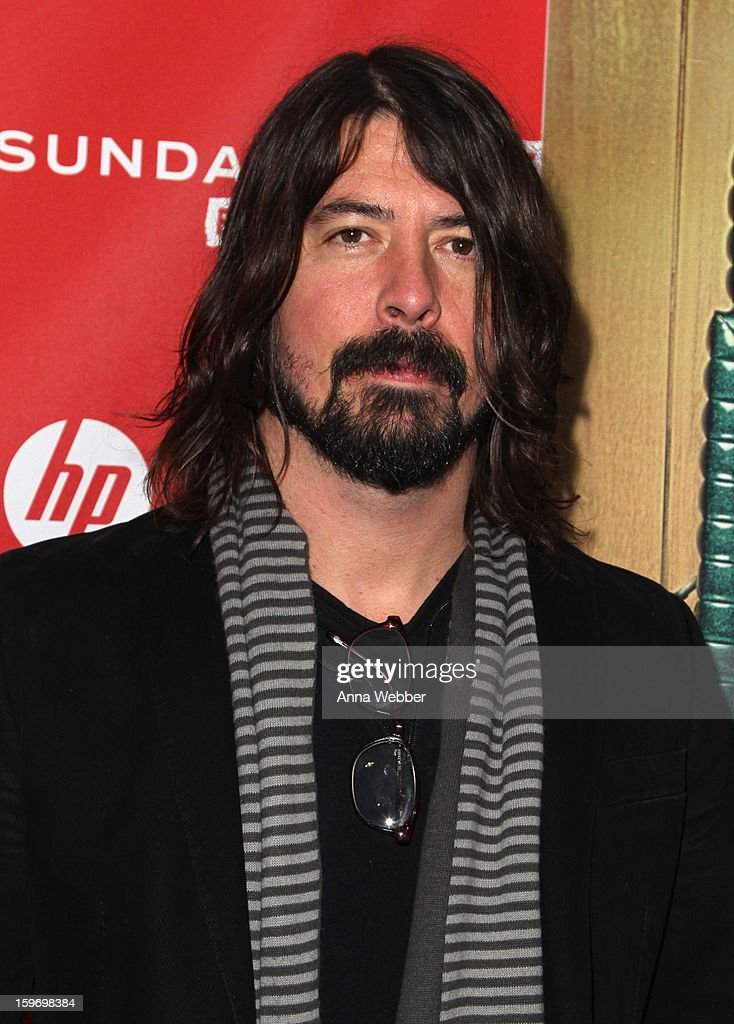 Director Dave Grohl attends the 'Sound City' premiere during the 2013 Sundance Film Festival at The Marc Theatre on January 18, 2013 in Park City, Utah.