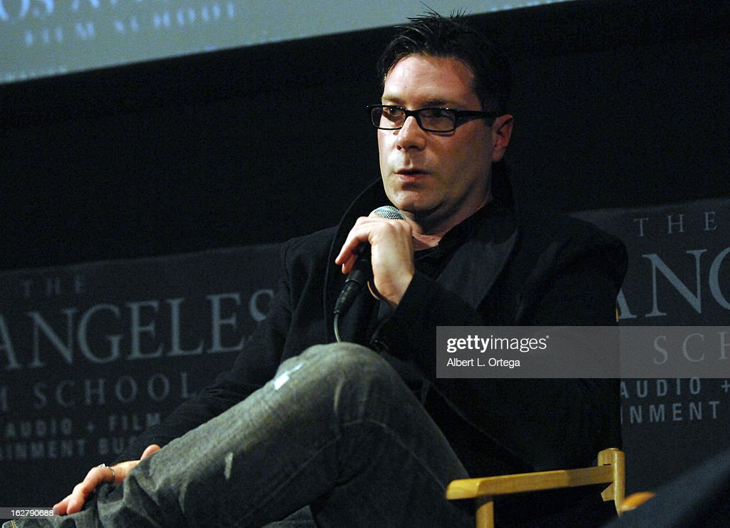 Director Dave Parker attends the Screening and Q&A for 'ColdWater' at The Los Angeles Film School on February 26, 2013 in Hollywood, California.