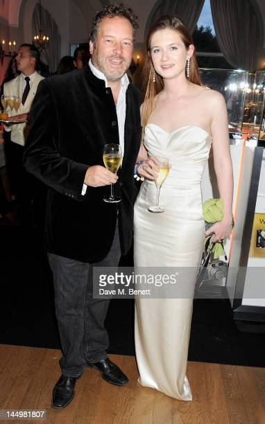 Director David Allain and actress Bonnie Wright attend the IWC and Finch's Quarterly Review Annual Filmmakers Dinner at Hotel Du CapEden Roc on May...