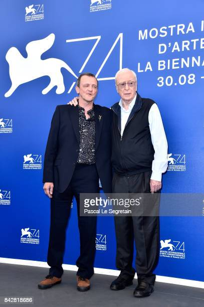 Director David Batty and Michael Caine attend the 'My Generation' photocall during the 74th Venice Film Festival at Sala Casino on September 5 2017...