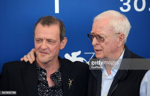 Director David Batty and Michael Caine attend the 'My Generation' photocall during the 74th Venice Film Festival in Venice Italy on September 5 2017