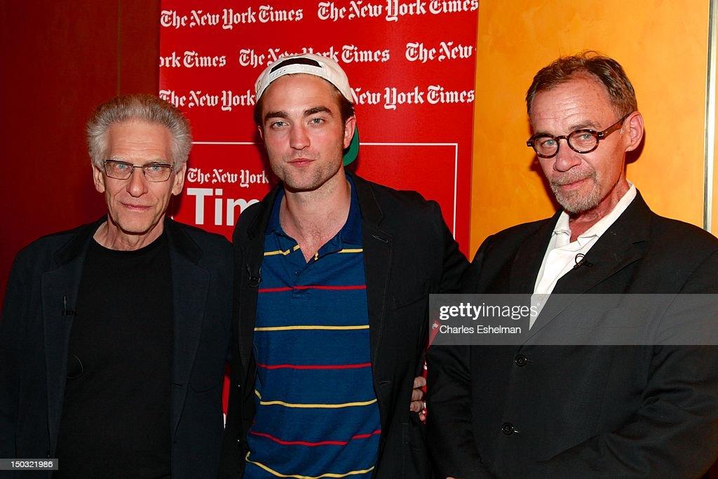 TimesTalks: David Cronenberg And Robert Pattinson