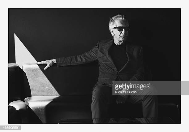Director David Cronenberg is photographed for Self Assignment on May 20 2014 in Cannes France