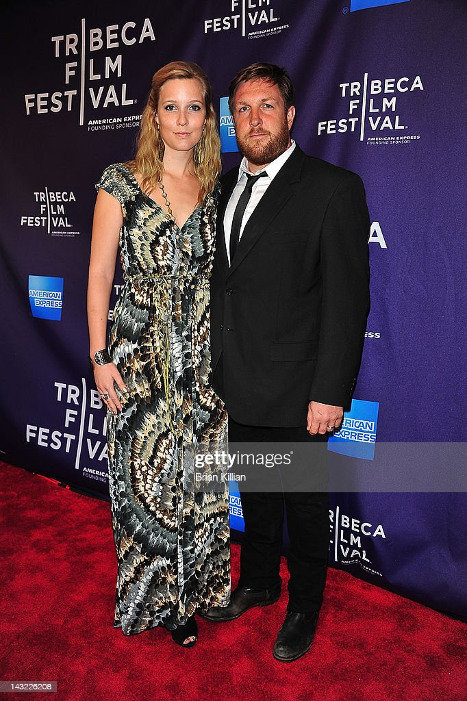Director David Darg and wife Naomi Darg of the short Baseball in the Time of Cholera attend Shorts Program: Help Wanted during the 2012 Tribeca Film Festival at the AMC Loews Village 7 on April 21, 2012 in New York City.