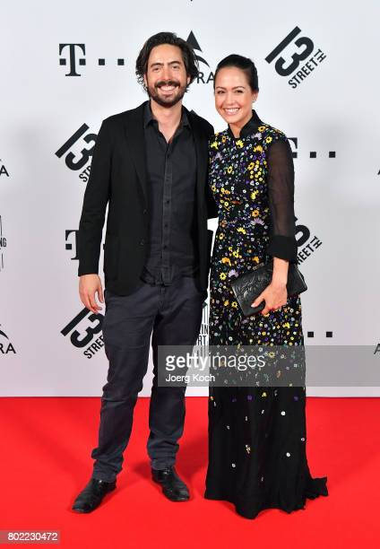 Director David Dietl and actress Ankie Beilke attend the Shocking Shorts Award 2017 during the Munich Film Festival on June 27 2017 in Munich Germany