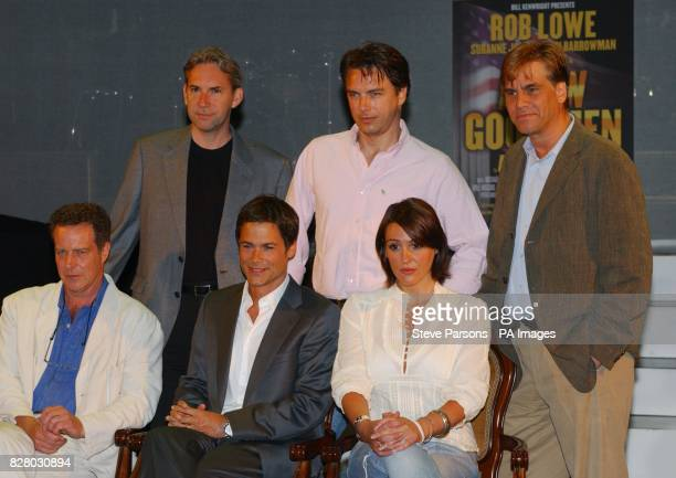 director David Esbjornson John Barrowman writer Aaron Sorkin Jack Ellis Rob Lowe and Suranne Jones