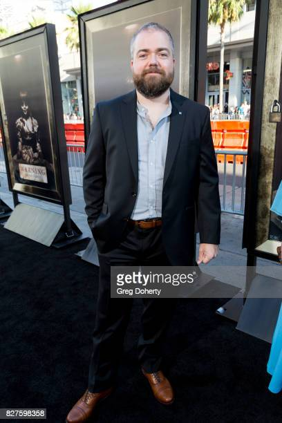 Director David F Sandberg arrives for the Premiere Of New Line Cinema's 'Annabelle Creation' at the TCL Chinese Theatre on August 7 2017 in Hollywood...