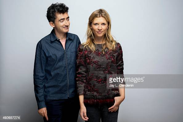 Director David Farr and actress Clemence Poesy from the film 'The Ones Below' are photographed for Los Angeles Times on September 25 2015 in Toronto...