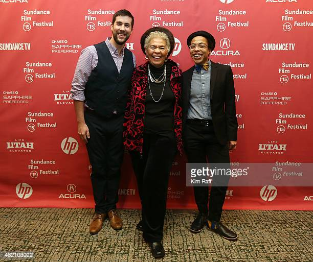Director David Felix Sutcliffe Marlene Jenkins and director Lyric R Cabral attend the 'ERROR' Premiere during the 2015 Sundance Film Festival at the...
