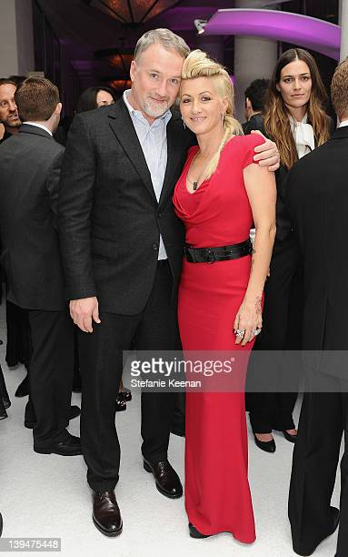 Director David Fincher and costume designer Trish Summerville attend the 14th Annual Costume Designers Guild Awards With Presenting Sponsor Lacoste...