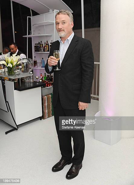 Director David Fincher attends the 14th Annual Costume Designers Guild Awards With Presenting Sponsor Lacoste held at The Beverly Hilton hotel on...